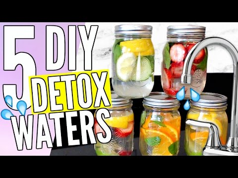 5 EASY DIY DETOX WATERS - Pinterest Inspired! | Cicily Boone
