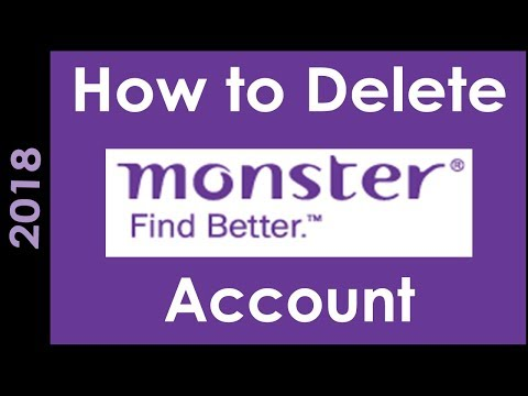 How To Delete Monster India Account Permanently