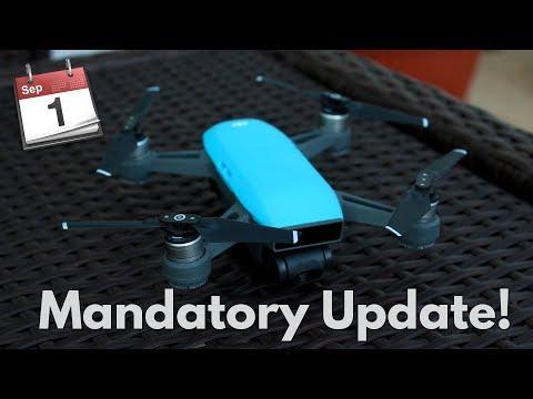 MANDATORY Firmware Upgrade for DJI Spark before September 1!