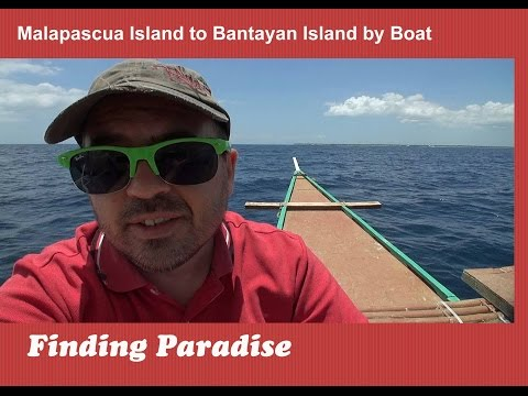 How to travel from Malapascua Island to Bantayan Island by Boat | Top Philippines Travel Videos
