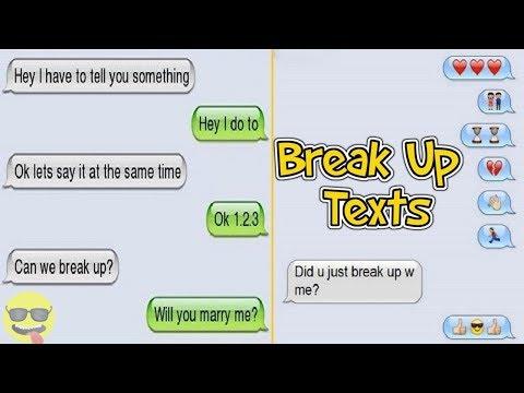 Hilarious Break Up Texts