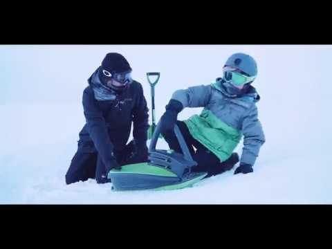 Skidrifter Slope Racer Ski Sled for Kids and Adults by Gizmo Riders | Dazadi.com
