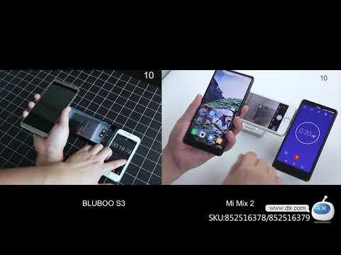 Bluboo S3 6.0 inch scherp FHD + 8500mah 12V / 2A NFC 4GB RAM 64GB ROM MTK6750T 1.5ghz 4G smartphone