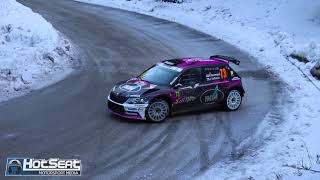 Rallye Monte Carlo 2018 - Day 4 | One Minute RAW (Crashes Spins 60FPS)