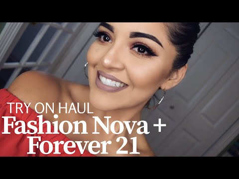 FASHION NOVA JEANS + FOREVER 21 SWIMSUITS TRY ON 2017