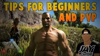 Ark Survival Evolved PS4 Tutorial - Tips For Beginners - Tips For Official PVP