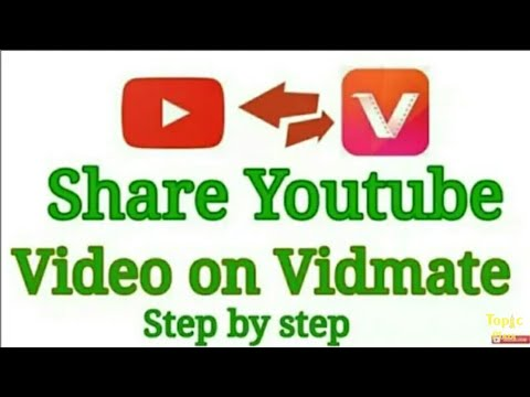 How To Upload Video On Vidmate    Upload Youtube Video On Vidmate
