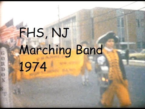 Frankling High School, NJ Marching Band 1974