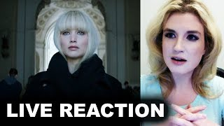 Red Sparrow Trailer REACTION