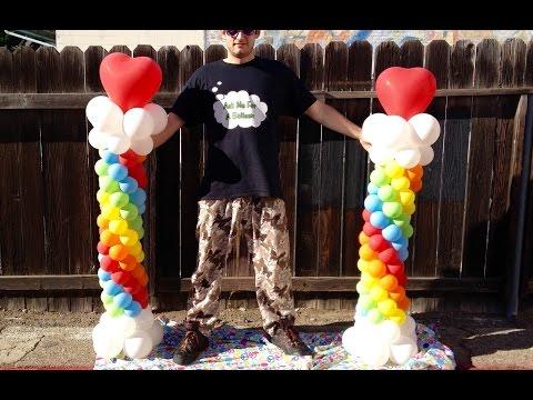 Amazing Freestanding Balloon Column