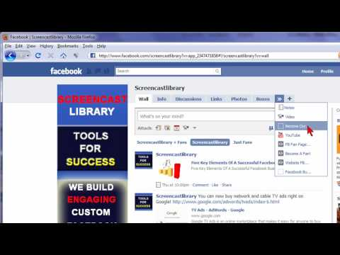 How To Change The Order Of The Tabs On Your Facebook Fan & Business Page