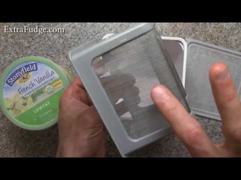 Cuisipro Donvier Yogurt Cheese Maker Review  (Also great for making Greek Yogurt)