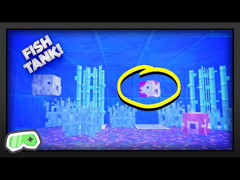 Minecraft - How To Make A Fish Tank
