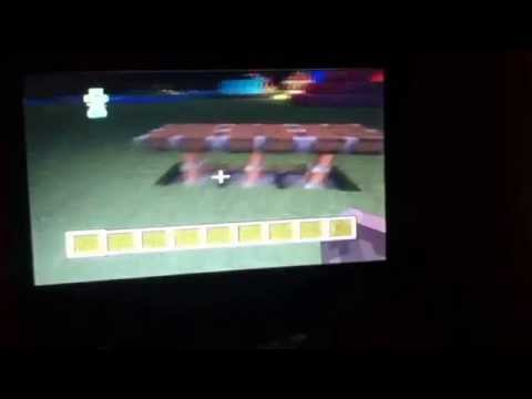 Minecraft PS3 let's play-nice table #1