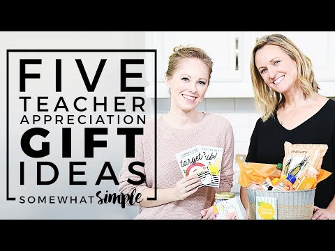 Teacher Appreciation Gifts – 5 of Our Favorite Ideas