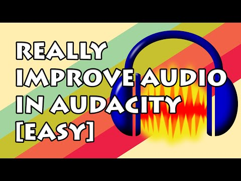 How to EASILY Improve Audio Quality with Audacity!