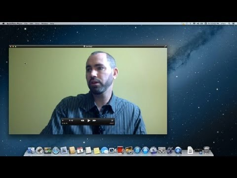 How to Record With a Webcam on an Apple iMac : Apple Product FAQs