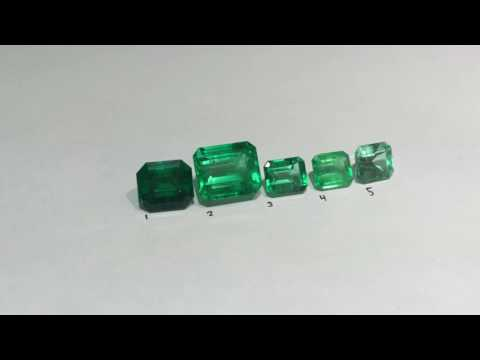 How to grade different Emerald tone and Color quality 💎