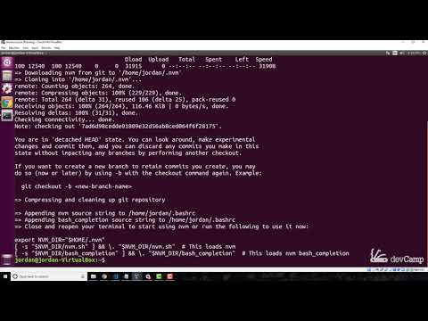 Securely Install Node and NPM on Linux with NVM