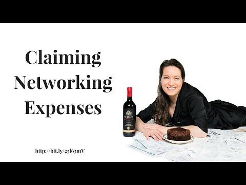 Claiming Networking Expenses