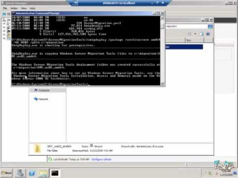 Windows Server 2008 R2 Quick Look #1 - Installing the Migration Tools