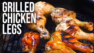 Barbecue Chicken Legs recipe by the BBQ Pit Boys