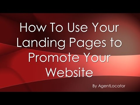 How to Promote Your Landing Pages Using Your Facebook Business Page