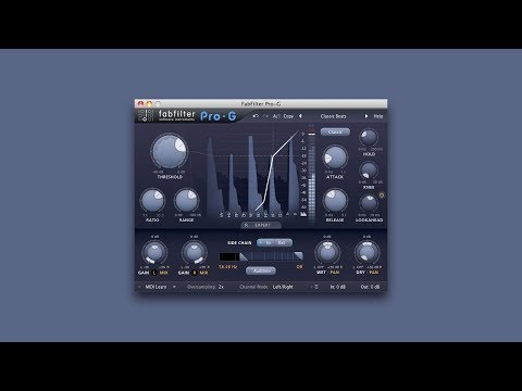 MIDI Controlled Trance Gate via Pro-G by Fabfilter
