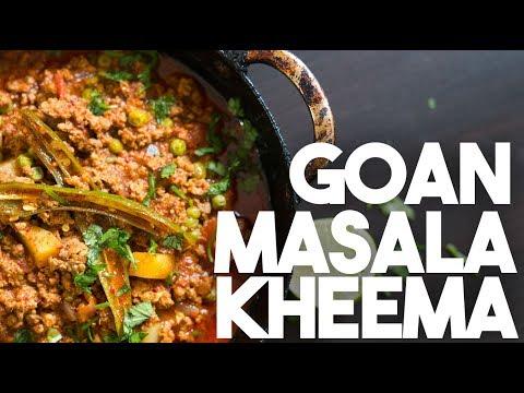 🌶 Goan MASALA KHEEMA   Spiced Ground Beef Curry   Kravings