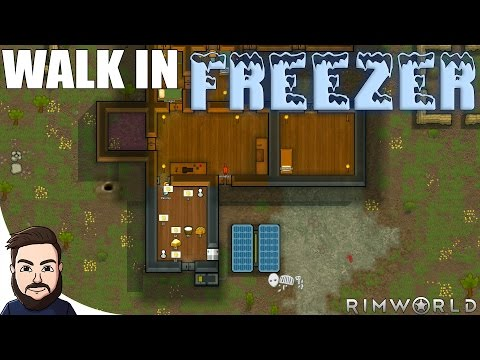 Walk In Freezer | RimWorld Gameplay #2 (Survival/Base Building)