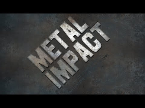 Metal Impact Sound Effects - Sample Library