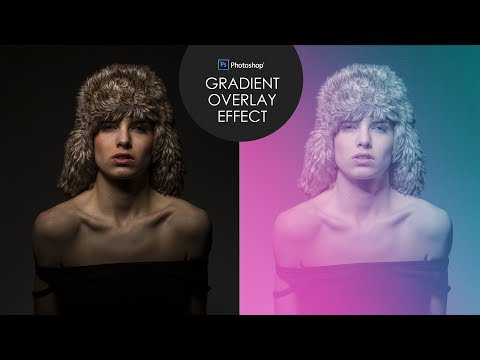 Colorful Gradient Overlay Effect in Photoshop - Screen Tones Photo Editing Tutorial