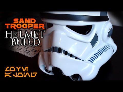 Sandtrooper Helmet Build | Star Wars