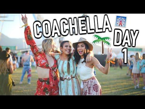 Coachella Day 1! GRWM, Weird Kid on Drugs, & Photoshoots!