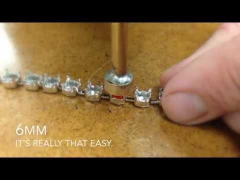 Las Vegas Rhinestones - Prong-Pushing Hand Tool