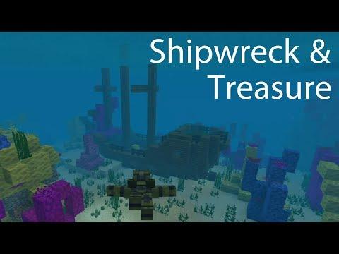 Minecraft Shipwreck & Buried Treasure Guide, Ahoy! & Me Gold! Achievements