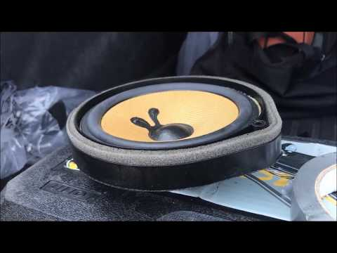 removing/installing new rear speakers on a 2015 Honda Civic Si Coupe