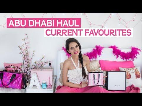 ABU DHABI HAUL   CURRENT FAVOURITES   HUGE COLOURPOP GIVEAWAY