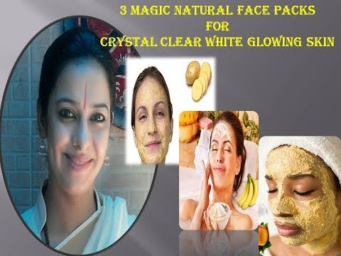 Get crystal clear fair glowing skin naturally   गोरी निखरी चमकती त्वचा पाने के घरेलु नुस्खे