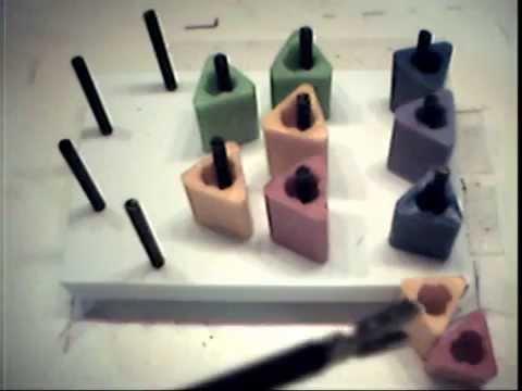 Peg Board Single Hand Drill - Left Hand