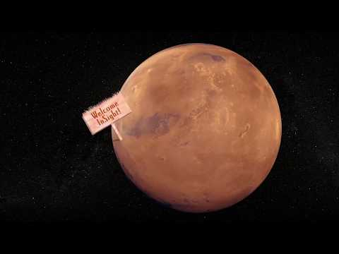Mars is Visible in the Sky as Insight Prepares for Launch