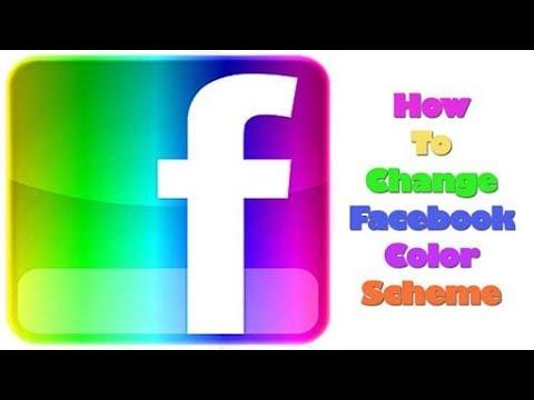 Facebook status colours change 💯% work