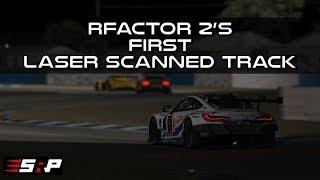rFactor 2 Sebring Laser Scanned Track Onboard + Driver Inputs