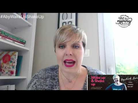 Wake Up & Shake Up is 5 mins of motivation for Mamapreneurs #9