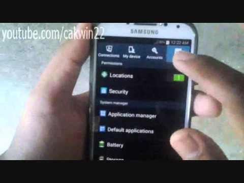 Samsung Galaxy S4: How to find my phone number (Android Kitkat)