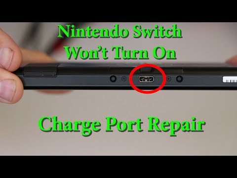 Nintendo Switch Not Charging - Wont Turn On