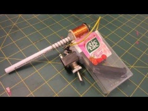 How to Make a Tic Tac COIL GUN - EASY