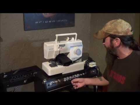 singer sewing machine scrap