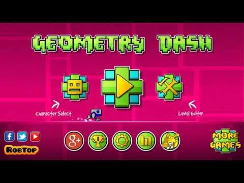 Geometry Dash, Level One, All Three Stars.
