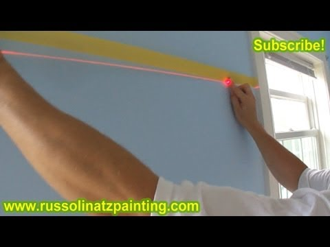 DIY Nursery Painting - Accent Wall & Horizontal Stripes (Part 3)